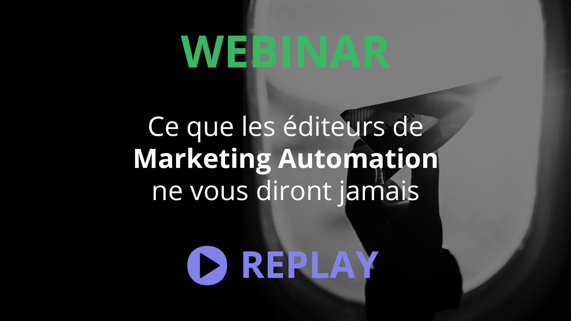 Webinar Kestio : Marketing Automation
